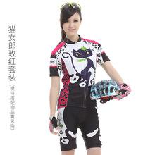 BAT FOX蝠貍夏季騎行服女短袖短褲山車地車單車服FOX3308