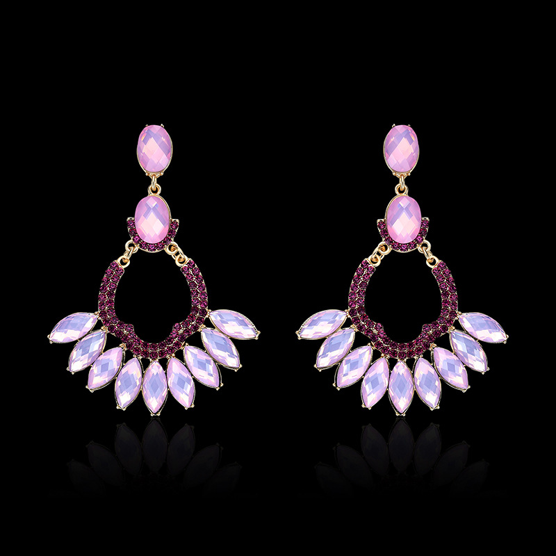 Occident and the United States alloy plating earring (61179398)NHLP0807-61179398