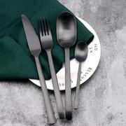 银貂 批发不锈钢餐具刀叉 西餐餐具 刀叉 不锈钢刀叉勺 各种工艺