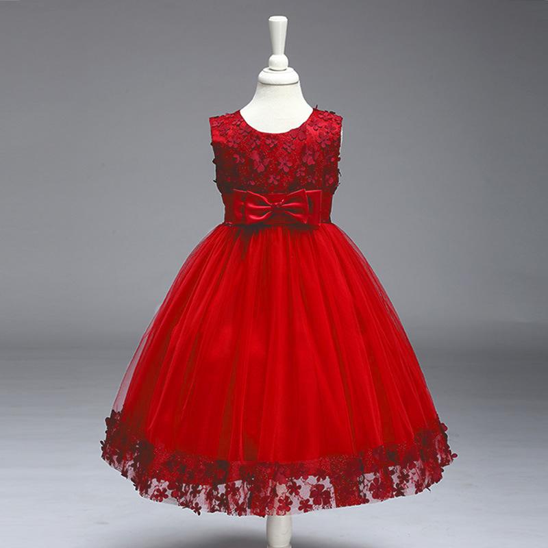 Aliexpress.com : Buy New 3 8Y Flower Girl Dress Kids Ball Gown ...