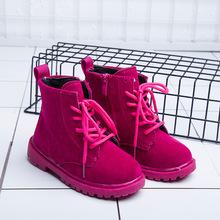 Boots bé trai,gái thời trang, trơn màu nổi bật, dáng hiện đại