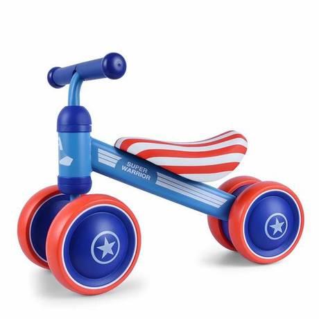 Lê bé trượt xe trẻ em cân bằng xe bốn bánh chập chững 1 tuổi bé tặng quà xe đẩy trẻ em Xe xoắn