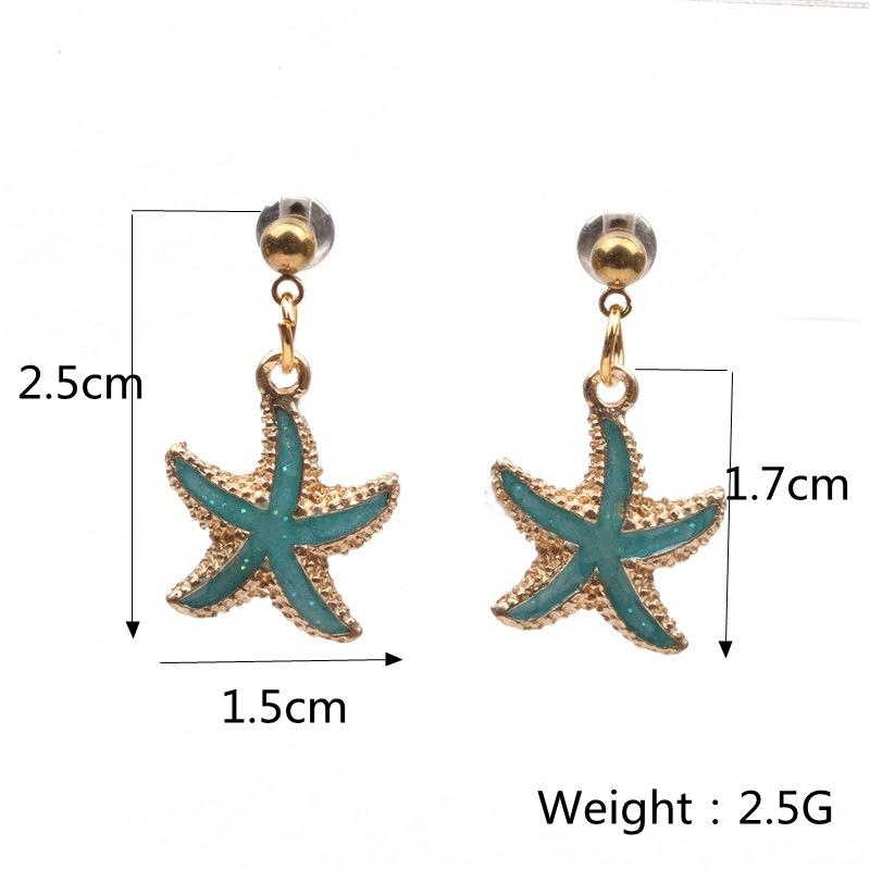 Alloy Fashion Geometric earring  White earrings NHYL0131Whiteearrings