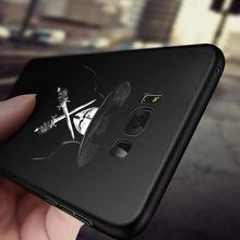 三星s8手机壳 s8plus硅胶防摔新款软壳彩绘浮雕全包边定制手机套