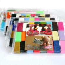 32色套装软陶泥 超轻彩泥polymer clay玩具 益智手工制作橡皮彩泥