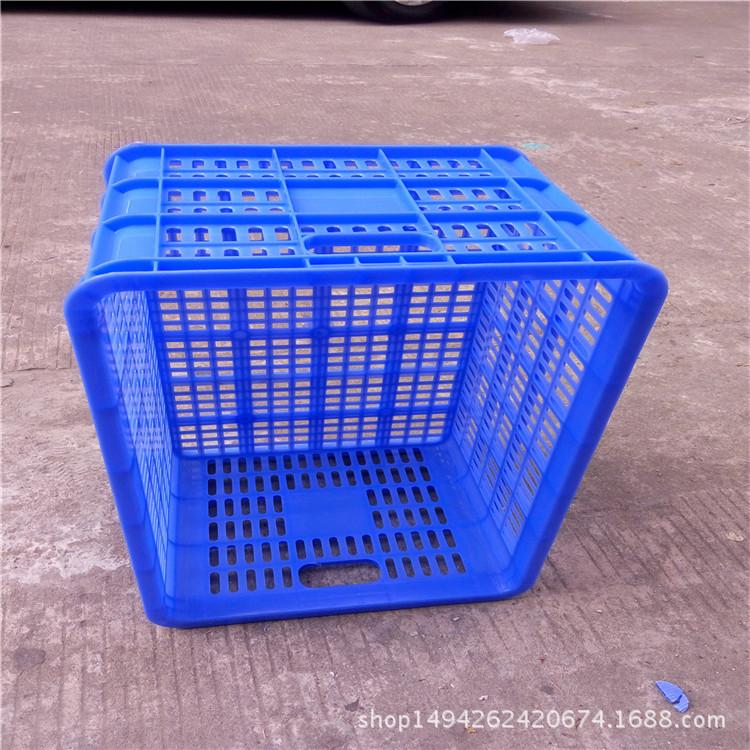 厂家批发塑料周转筐水果筐蔬菜箩胶筐食品周转箩500*350*255mm