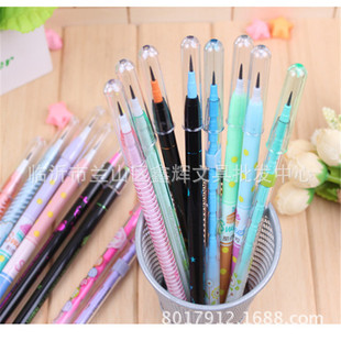 Student 4 packs of bullet pencils cute non-sharpening bullet pencils multi-pointed pencils, non-sharpening pencils and egg pens