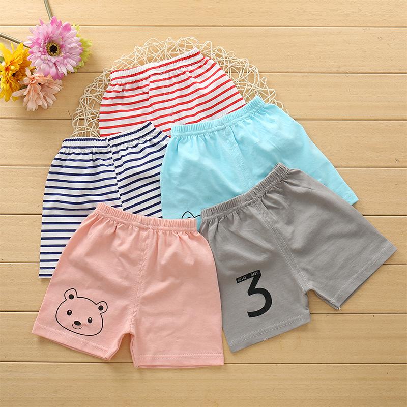一件代发夏季纯棉童裤全棉儿童裤头 童装短裤中小童单件儿童短裤