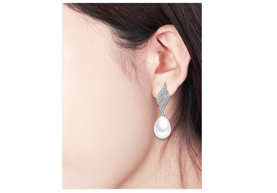 Alloy Fashion Geometric earring  PlatinumT09H19 NHTM0479PlatinumT09H19