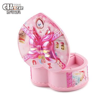 [Nhỏ duy nhất sản phẩm tuyệt vời] music box series đồ chơi Trẻ Em của hộp nhạc đồ trang sức Đồng Hồ hộp âm nhạc ánh sáng