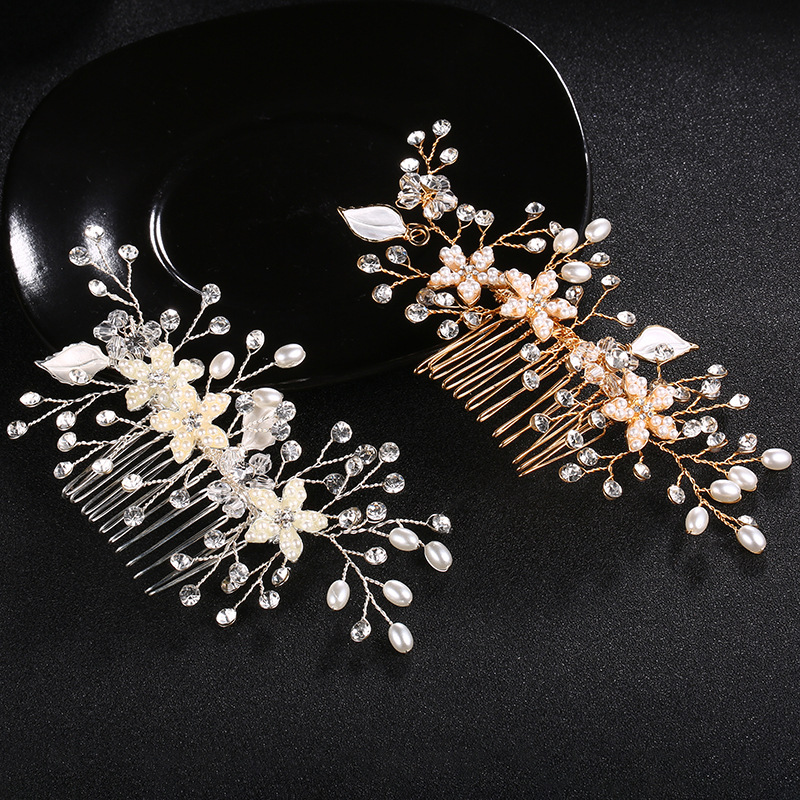 Alloy Fashion Flowers Hair accessories  (Alloy) NHHS0352-Alloy