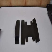 黑色PC防火阻燃耐高温绝缘片 耐高压PET绝缘片 电源适配器绝缘片