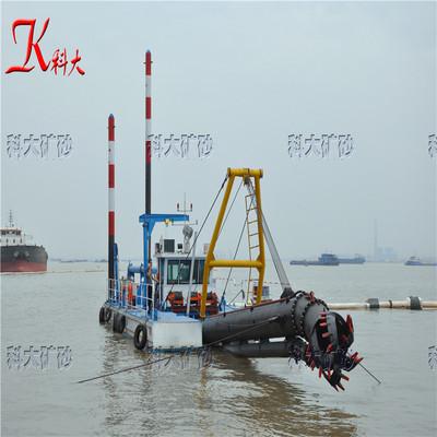 四川乐山绞吸式清淤船 挖泥船铰刀头生产厂家