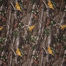 现货供应 566-23涤纶树叶丛林迷彩布 斜纹印花军迷工作服面料