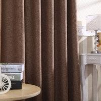 Новая коллекция белье окно Занавес фабрики прямой простой сплошной цвет хлопок конопля окно Тканевая ткань высококачественный Затенение можно настроить