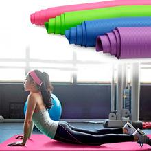 批发10mm加长NBR瑜伽垫加宽瑜珈垫多功能运动健身防滑愈伽垫