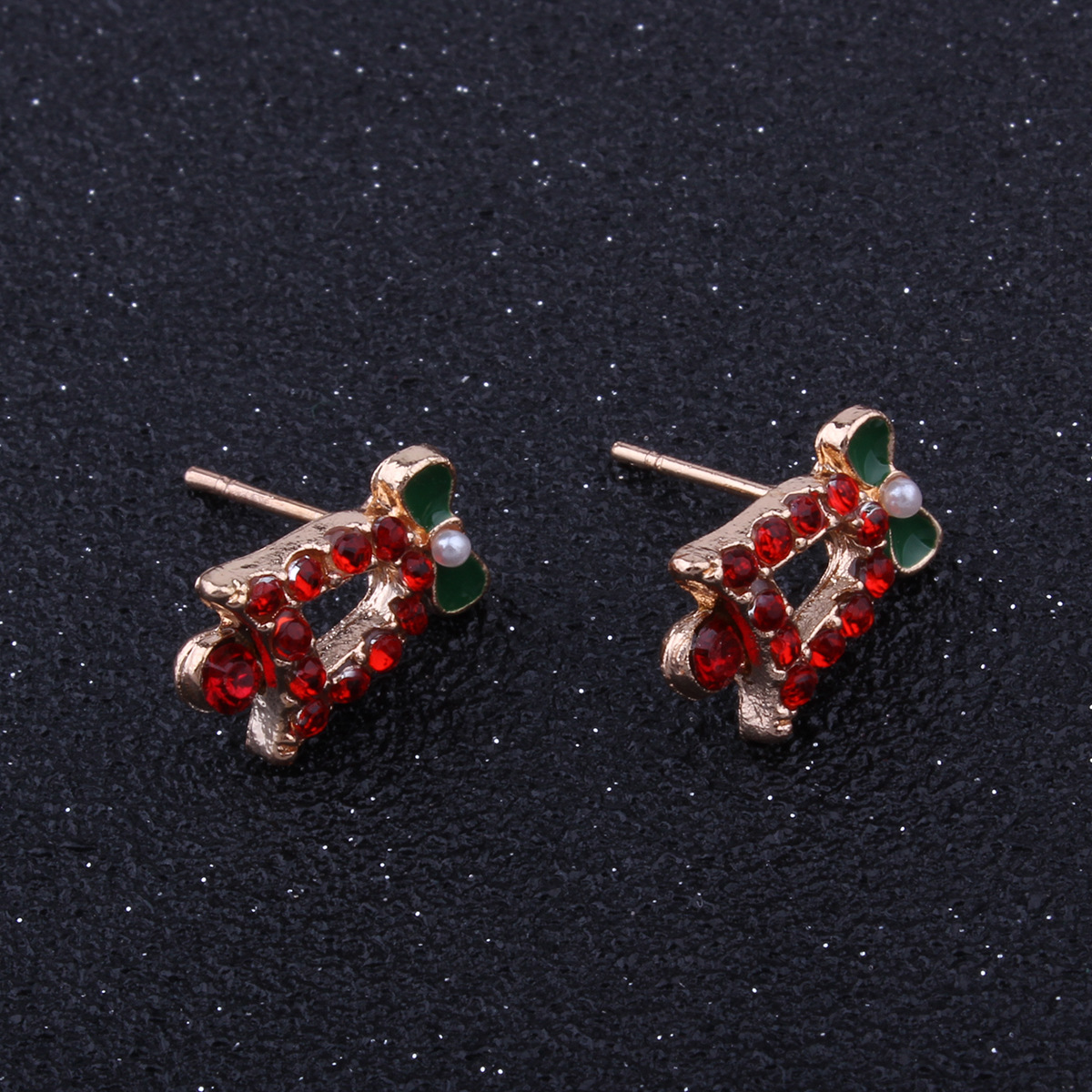 Occident and the United States alloy plating earring (E1097 Santa Claus)NHNMD3843-E1097 Santa Claus