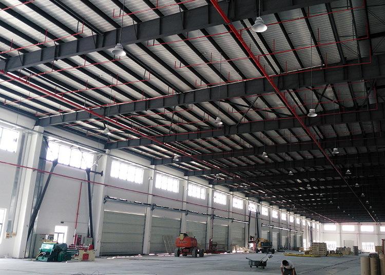 LED厂房灯安装方式