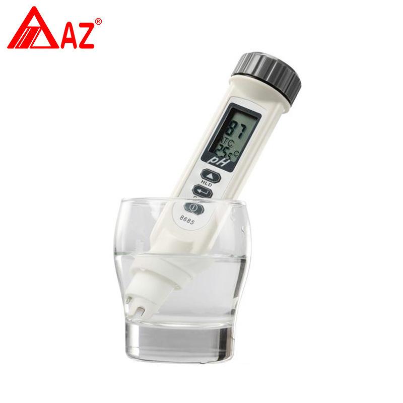 衡欣AZ8685高精度ph测试笔酸度仪便捷式PH计酸碱度计实验室