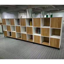 特价资料柜 文件柜 家用书柜 九宫格双面柜 可拼接 定制矮柜