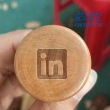 木把手激光刻字设备 印章木手柄logo打印机 边线器执手木柄镭雕