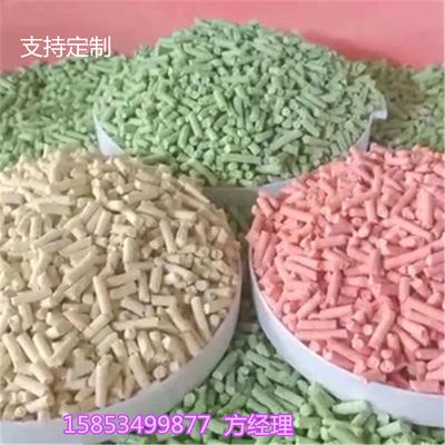 时产2吨豆腐渣猫砂颗粒机 全套猫砂生产加工设备机组厂家 有配方