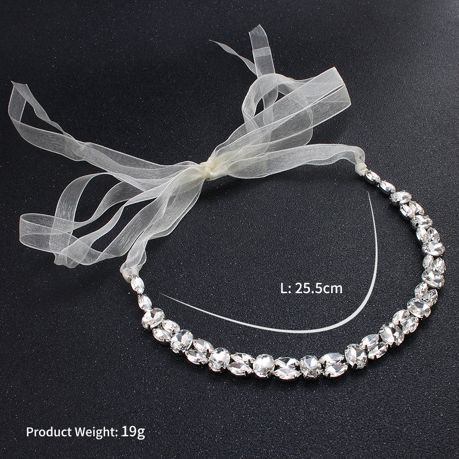 Alloy Fashion Geometric Hair accessories  (white) NHHS0027-white