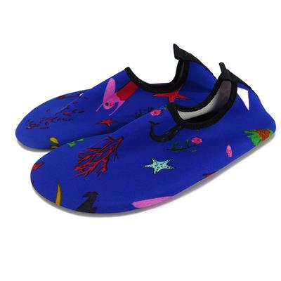 47休闲户外赤足沙滩鞋 游泳浮潜水溯溪鞋 贴肤软底水陆两用水鞋