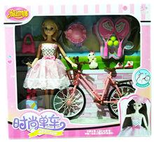 娃娃589-3 礼服 换衣娃娃关节可动 过家家玩具 +时尚单?#20302;?#23043;混批