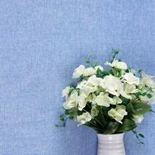 20色防污环保 无缝素色墙布亚麻客厅电视背景墙 纯色卧室壁布
