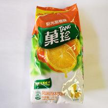 經銷批發果珍陽光甜橙味1kg固體速溶飲料果珍果汁粉沖調飲品