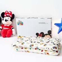 Disney迪士尼泰国儿童乳胶枕婴儿全棉针织宝宝头型定型枕头礼品枕
