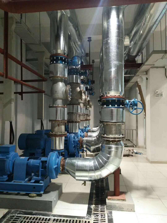 铁皮保温施工 管道保温 各种材质 铝板 不锈钢