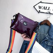 2018PU时尚斜挎包学院风防水休闲背包一件代新款背包单肩韩版女包