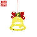 生产厂家 铃铛毛毡圣诞挂件 毛毡无纺布挂件 圣诞装饰用品挂饰