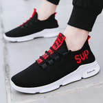 2018 new breathable Korean version of the trend of sports leisure shoes, running shoes, student shoes, mens shoes