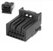 汽车连接器 MX34012SF1 原装JAE 12P灰色胶壳 2.2mm