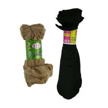 夏季薄款短絲襪女竹碳纖維小辣椒天鵝絨防勾絲水晶襪地攤襪子批發