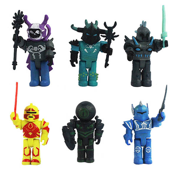 Roblox Champions Of Roblox Figure 6 Creativity Pack Roblox 6 Pcs Roblox Action Figures Toy Champions Game Series For Kids Bulk Pack Ebay