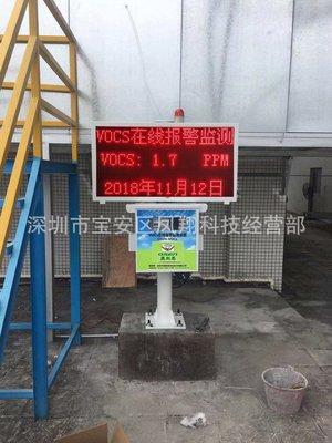 VOCs检测仪CO2废气气体浓度在线监测报警仪器设备联网政府带认证