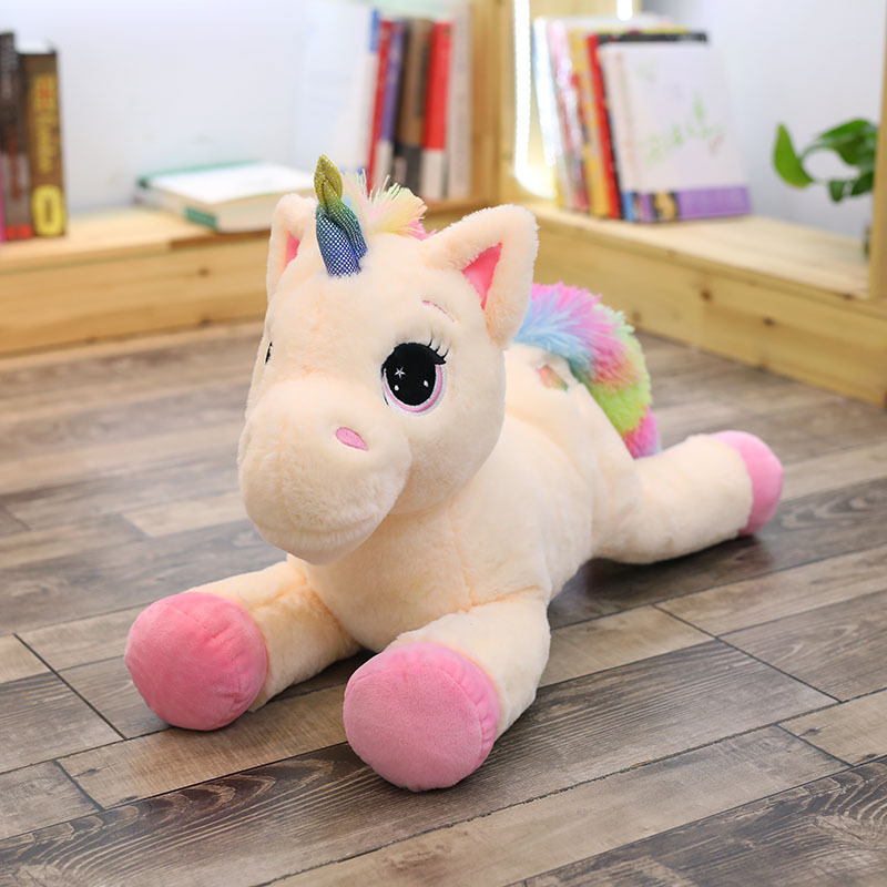 Giant Plush Large Unicorn Toy Stuffed Animal 65 cm size Choose color