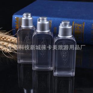 Factory direct supply hotel disposable plastic bottle cosmetics sub-bottling hotel shampoo bottle leaf bottle