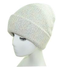 库存清仓处理特价冬季新款兔毛毛线帽女加厚长兔毛金银丝针织帽子