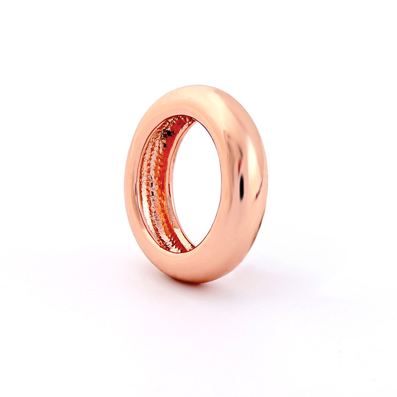 Copper Korea Geometric Ring  (Alloy-1) NHQD5839-Alloy-1