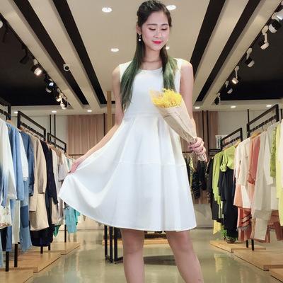 今日主播18秋歆艾3S尚艾诗时尚连衣裙品牌折扣女装尾货千黛百合
