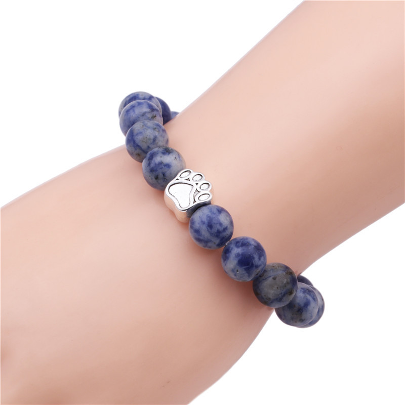 Alloy Fashion Animal bracelet  (White point orchid) NHYL0340-White-point-orchid