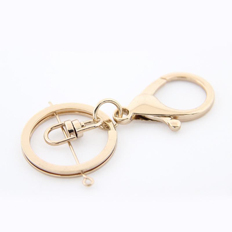 厂家批发金属钥匙扣圈包包挂件三件套龙虾扣八字平圈钥匙扣配件