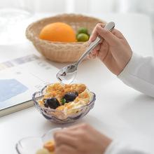 304不锈钢 甜品勺 创意雪糕勺酸奶勺冰淇淋勺子 可爱小勺子布丁勺