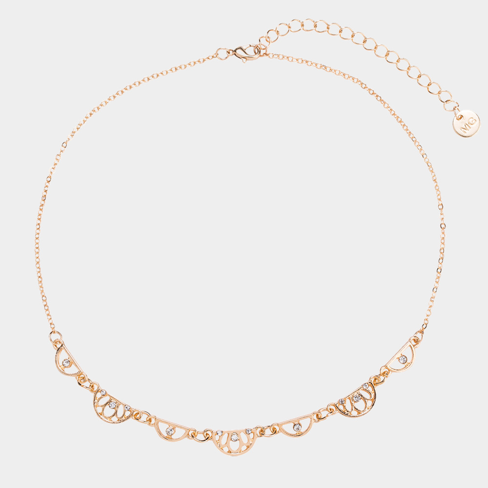 Fashion clavicle chain mix and match multilayer necklace women's necklace NHYT199867
