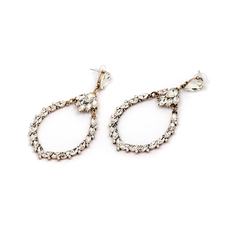 Alloy Fashion Geometric earring  (white) NHJJ5354-white